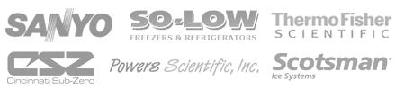 Sanyo, So-Low, Thermo Fisher, Cincinnati Sub-Zero, Powers Scientific, Scotsman